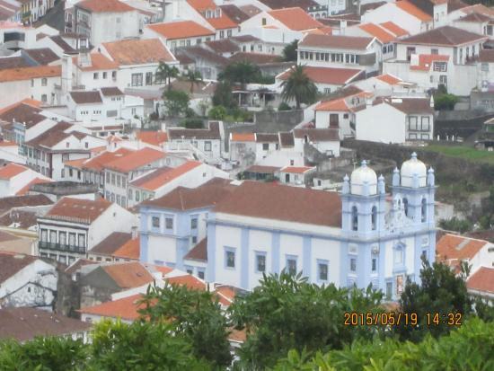 Pensao Residencial a Ilha: view over the town