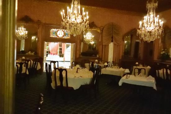 Fancy Dining Room At Double Eagle Restaurant, Mesilla, NM