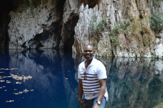 Chinhoyi Caves : Just me