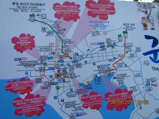 Map of Jinhae area showing places to go during Annual Cherry ... Cherry Blossom Map on iris map, beach map, cherry blue, banana map, cocoa map, strawberry map, honeysuckle map, tree map, coconut map, pineapple map, coffee map, butterfly map, dragonfly map, marathon map, bamboo map, cherry blossoms bloom washington dc, champagne map,