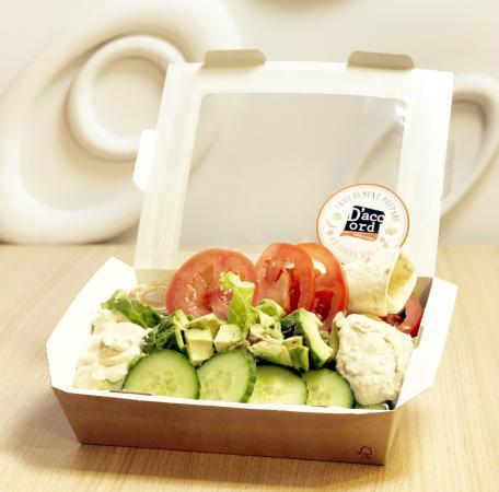 D'Accord! Coffee Lounge : Des Salades fraîchement préparées