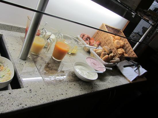 Senator Hotel : Seconda parte del buffet della colazione