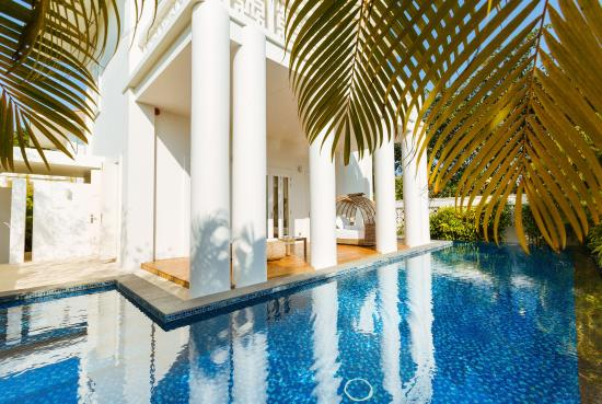 Princess D'An Nam Resort & Spa: Your private pool at the Empress Villa
