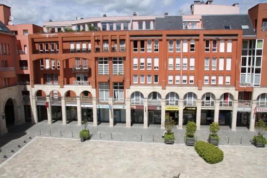 Hotel Ibis Epernay Centre Ville: Zimmerausblick