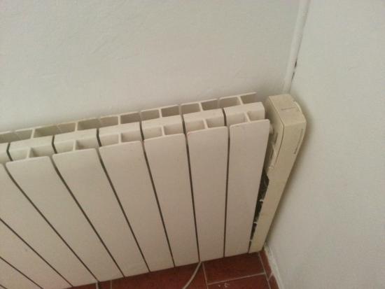 Hostal Regina: radiador roto
