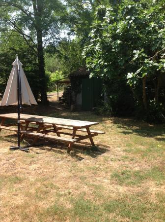 Cazilhac, Frankrike: la terrasse ouverte