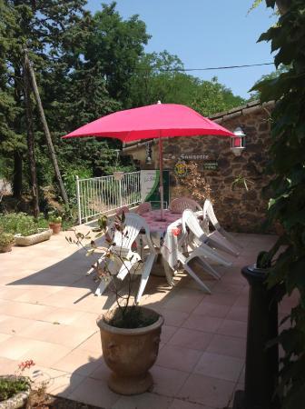 Cazilhac, Frankrike: la terrasse