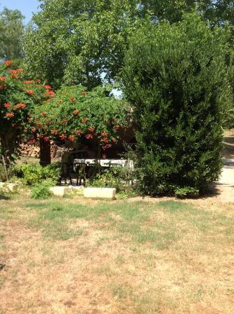Cazilhac, Франция: le jardin