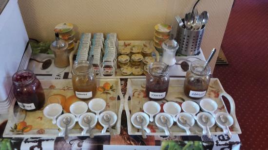 Hotel Alcyon: Buffet petit déjeuner