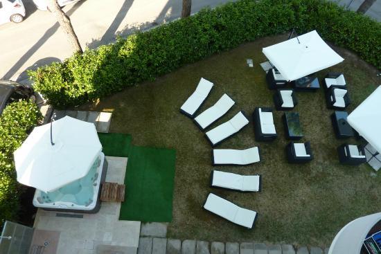 Hotel Marebello : giardino