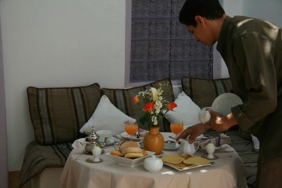 Dar Soukaina: Service Petit déjeuner