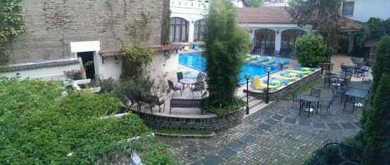 Hotel Elite Oradea: View from the room