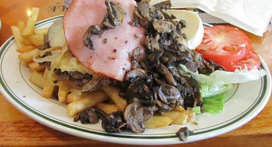 Jackson Hole--Columbus Avenue: hamburguesa 1