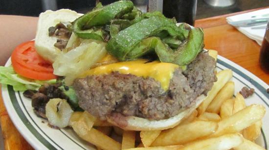 Jackson Hole--Columbus Avenue: hamburguesa 2