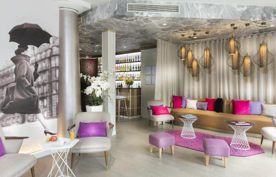 Hotel Eiffel Segur : Lobby