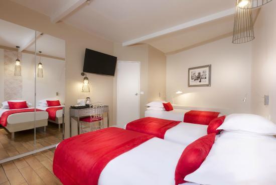 Hotel Eiffel Segur: Twin Superior