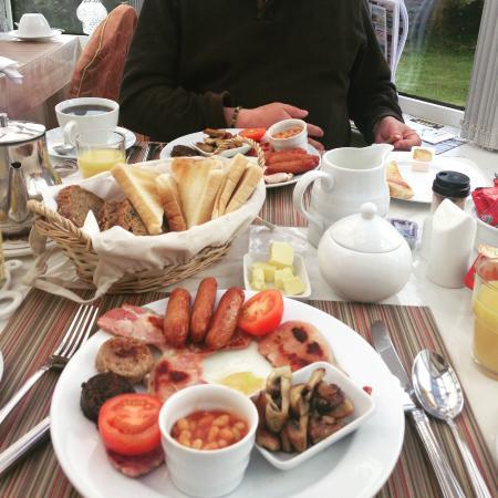 Radharc an Oileain B&B: Irish Breakfast!