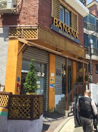Banana Backpackers Aufnahme