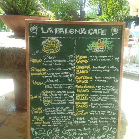 La Paloma: Karte