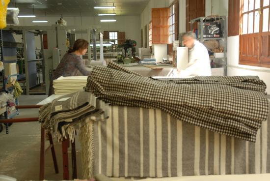 Artesanía textil de Grazalema