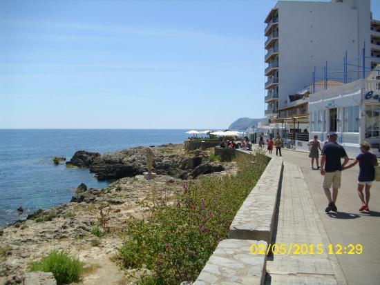 Hotel Clumba: Promenade