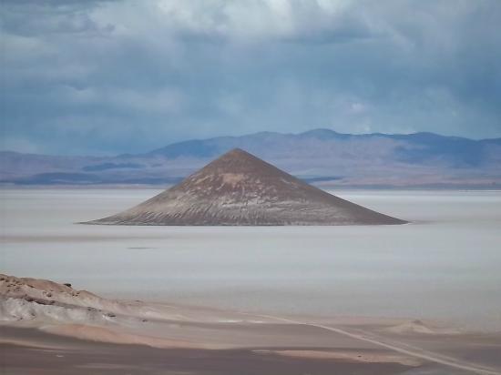 Tolar Grande, Argentyna: El Cono de Arita