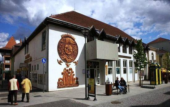 Heviz, Hungary: Fontana cinema
