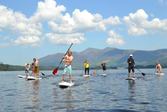 ‪Lake District Paddle Boarding‬