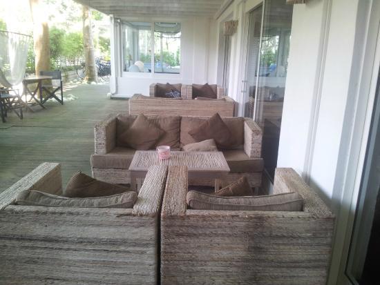 Hotel Saraceno: Angolo relax