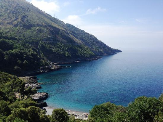 Hotel Spa Villa del Mare: spettacolo dalla camera