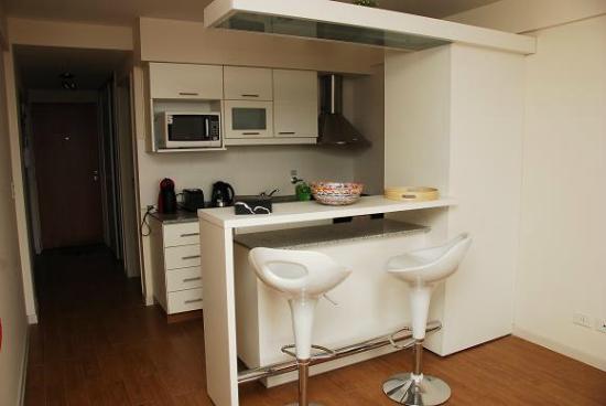 Barra Comedor - Picture of Terrazas Apartments, San Carlos de ...