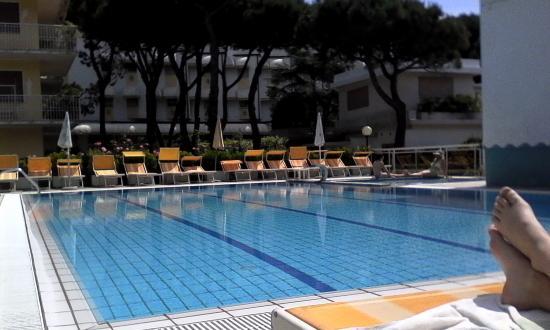 Hotel Palm Beach: Particolare piscina