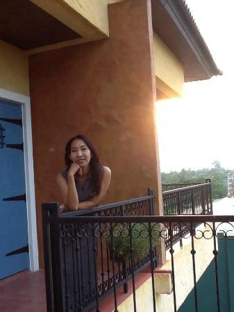 San Pareni Hotel : บรรยากาศยามพระอาทิตย์ตก