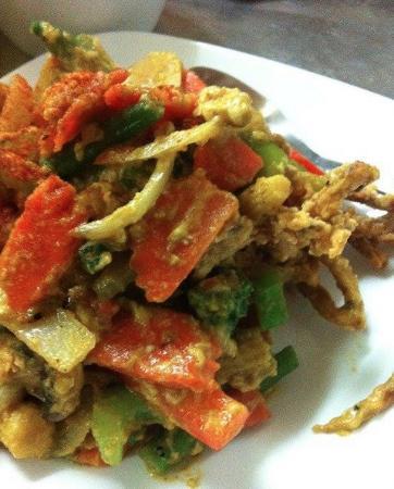 Cafe de Siam: Soft shell crab Siam sunset