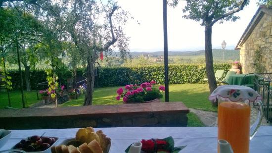 B.& B. Del Giglio: splendida vista per la colazione