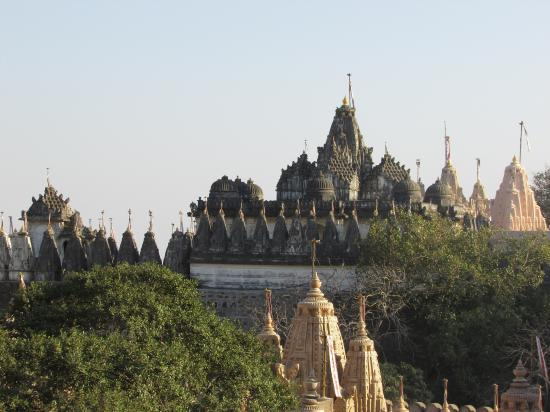 Palitana, อินเดีย: Общий вид