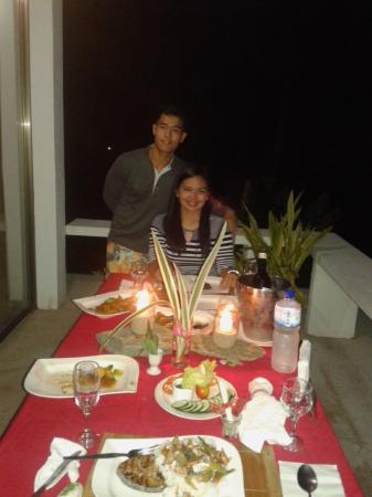 Amihan Del Sol: Romantic 3-course dinner (Honeymoon Package)
