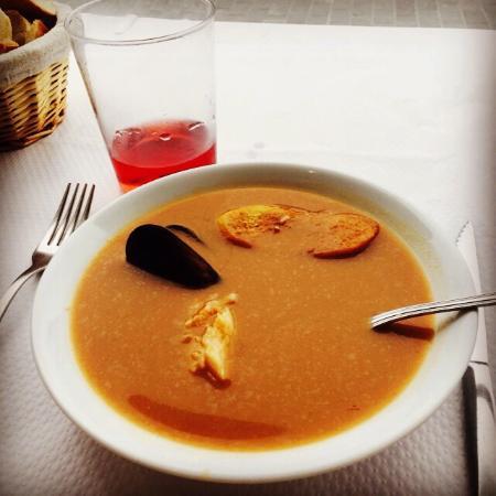 Mariñela - Igeldo: Best fish soup ever!