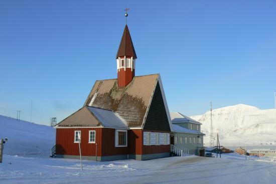 Svalbard Kirke: una chiesetta da favola