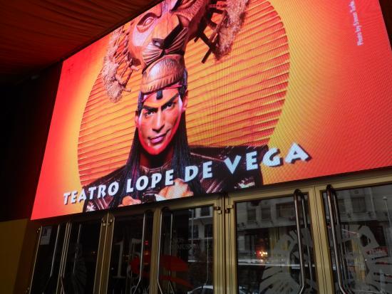 Lope de Vega Theater : entrada