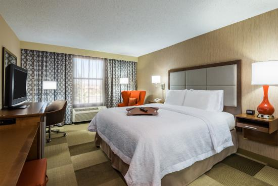 Hampton Inn Buffalo-Airport/Galleria Mall: King Guestroom