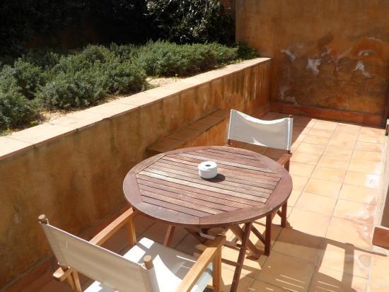 Hotel El Petit Convent: terraza