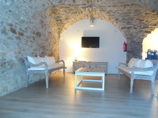 Hotel El Petit Convent: sala de tv