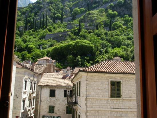Montenegro Hostel Kotor : view from my window