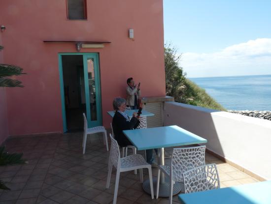 Hotel La Corricella: appena arrivati, incantati dal panorama