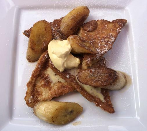 The Shed Cafe & Brunch Bar: French Toast with Banana