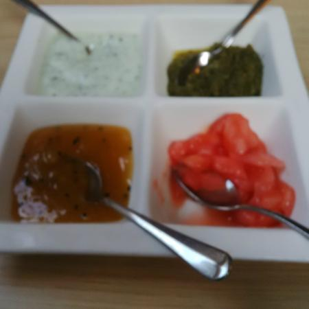 Deeva Restaurant: Pickle Tray