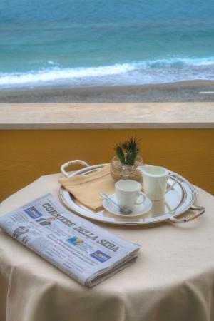 Hotel Albatros: Balcone camera sul mare