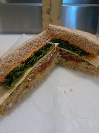 Poseidon's Pantry Gourmet Grocery & Deli: Powerhouse sandwich is awesome!!!