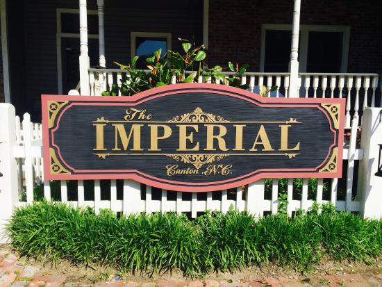 The Imperial Restaurant Canton Nc